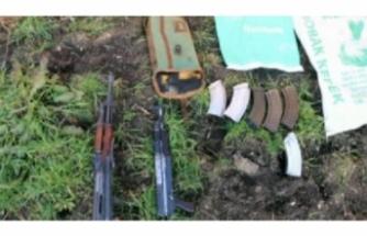 Çiftlikte kalaşnikof tüfekler ile hücum yelekleri bulundu!