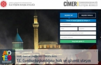 CİMER'e 3 milyon 138 bin başvuru yapıldı