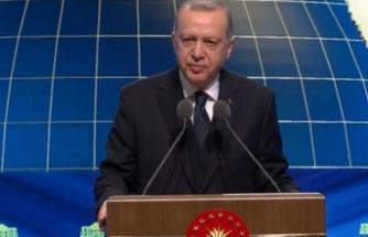 Cumhurbaşkanı Erdoğan Millet Kütüphanesi açılışına katıldı