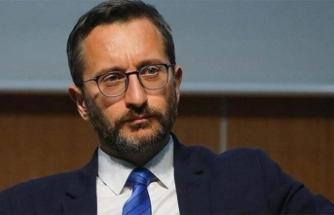 Fahrettin Altun: Devletimiz şehitlerimizin kanını yerde bırakmamış, bırakmayacaktır