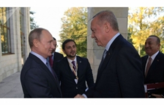 Putin, Erdoğan'ın doğum gününü kutladı