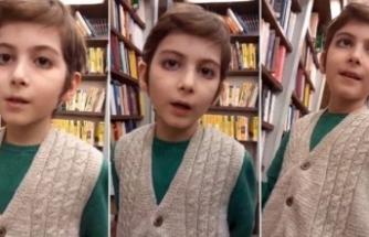 Sosyal medyada gündem olan Atakan, eğitim desteği istiyor