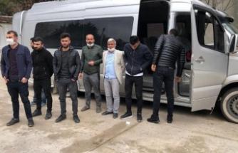 İzinsiz yolculuğa 3 bin 150'şer TL ceza, 14 gün karantina