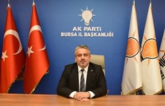 AK Parti Bursa Teşkilatı'ndan Milli Dayanışma Kampanyası'na destek