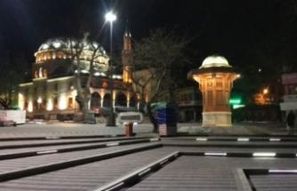 Bursa'da camiler kandilde boş kaldı