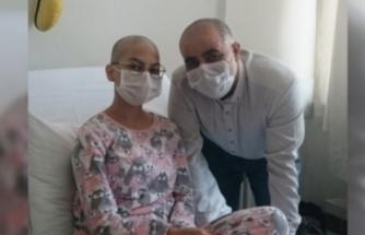 Bursa'da yaşayan Elif Azra Bulut'a kendi kök hücresi nakledildi