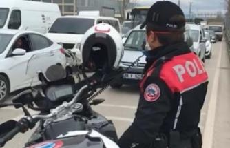 Bursa'dapolis ekiplerinden tek uyarı!