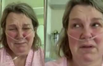 Corona virüs hastası ağlayarak yalvardı: Evden çıkmayın!