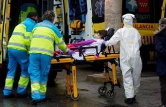 İspanya'da korona virüsten 605 can kaybı daha