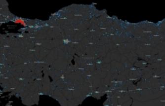 İşte Bursa'daki koronavirüs vaka haritası!