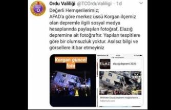 Ordu'da deprem! Sosyal medyada çirkin provokasyon