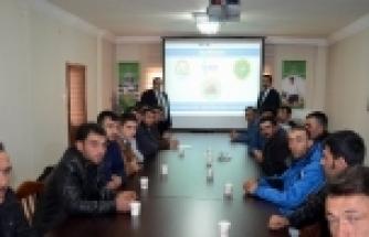 """AKSARAY'DA """"SÜRÜ YÖNETİMİ ELEMANI"""" KURSU BAŞLADI"""