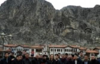 BELÇİKA'DAN 30 TÜRK GENCİ AMASYA'DA