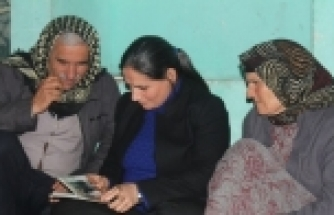 BİDAV'DAN KOBANİLİ AİLELERE ZİYARET