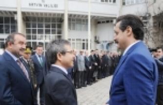 - ÇALIŞMA VE SOSYAL GÜVENLİK BAKANI FARUK ÇELİK ARTVİN'DE