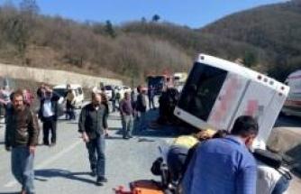 Bursa'da feci kaza! Çok sayıda ölü ve yaralı var!