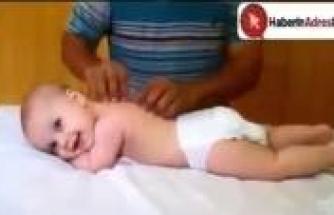 Bebeğe masaj yapılırsa...