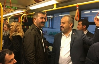 Bursa'da metroya ikinci indirim!