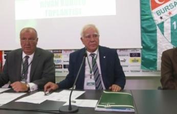 Bursaspor'dan birlik ve beraberlik çağrısı