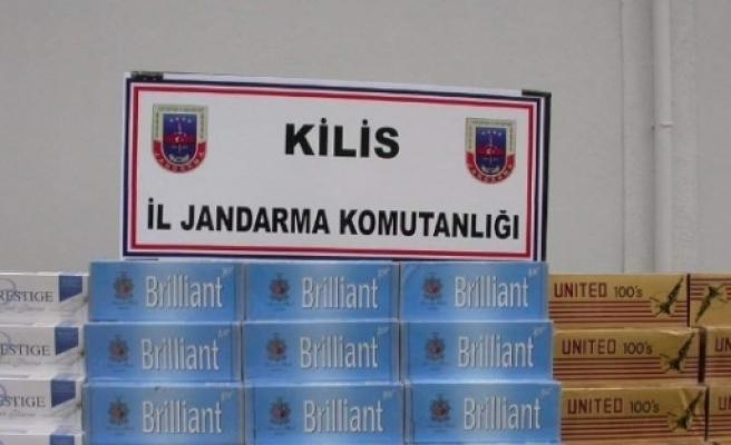 13 Bin 350 Paket Kaçak Sigara Ele Geçirildi