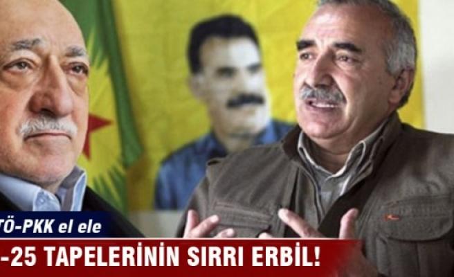 17-25 Aralık tapelerinin sırrı Erbil!