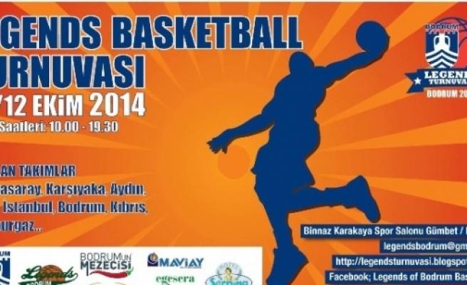1. Bodrum Legends Basketbol Veteran Turnuvası Başlıyor