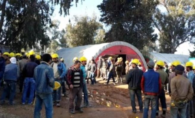200 inşaat işçisi birbirine girdi