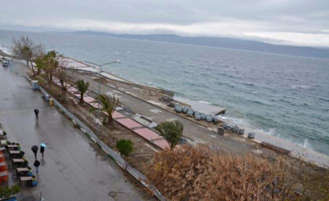 Bursa'da sahil projesi yaz sonuna yetişmeyecek!