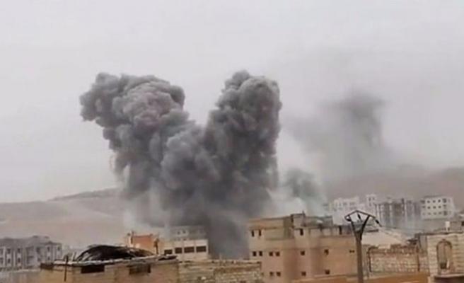 Türk jetleri El Bab'a bomba yağdırıyor!