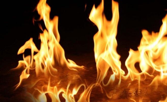 Yaşlı kadın yangında  hayatını kaybetti