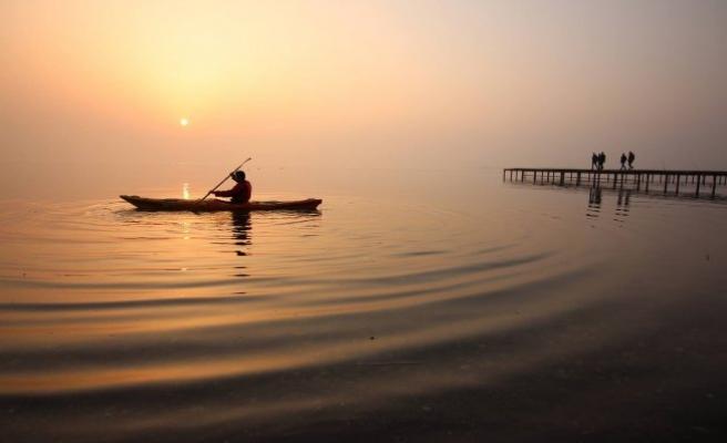 İznik'te kano heyecanı