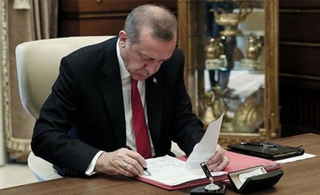 Cumhurbaşkanı Erdoğan, 54 Kanunu onayladı