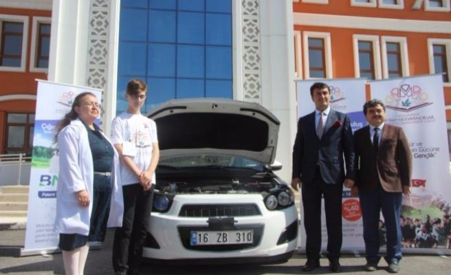 Bursalı öğrencilerden tüm sürücüleri ilgilendiren proje