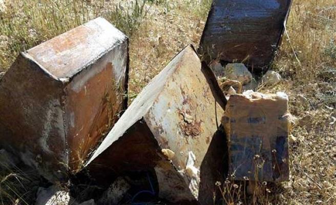 Mardin'de 500 kilo patlayıcı ele geçirildi