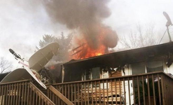 2 katlı binada dev yangın! En az 22 ölü