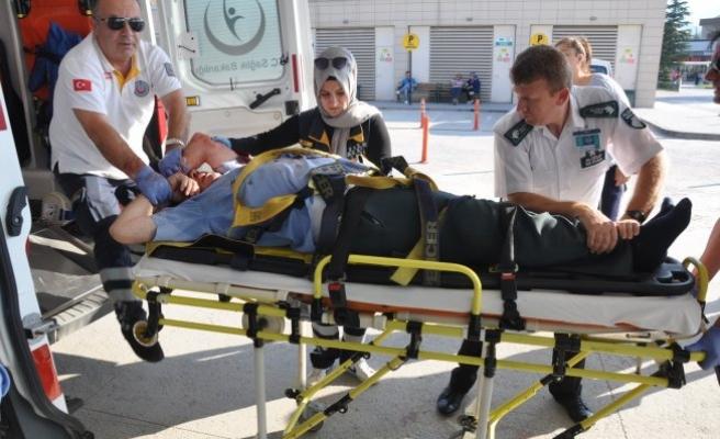 Bursa'da yaşlı adam hayata tutanamadı