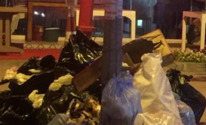 Bursa'da çöp kabusu!