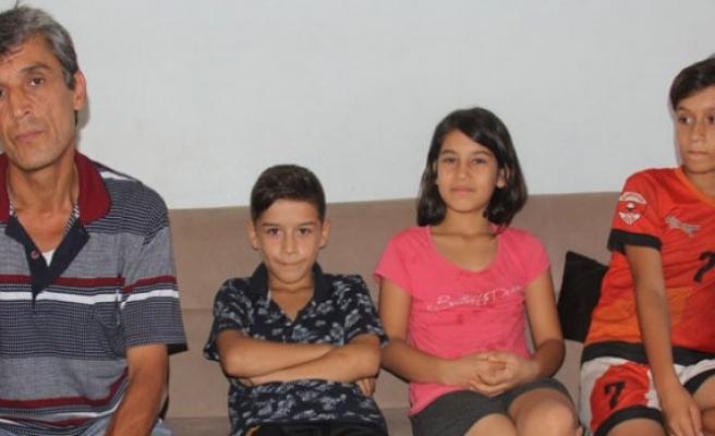 350 lira maaşla 7 çocuk okutuyor