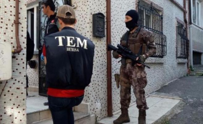 Bursa'da eş zamanlı uyuşturucu operasyonu!