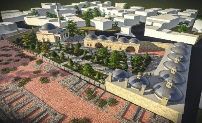 Bursa'da 5 asırlık külliye ayağa kaldırılıyor