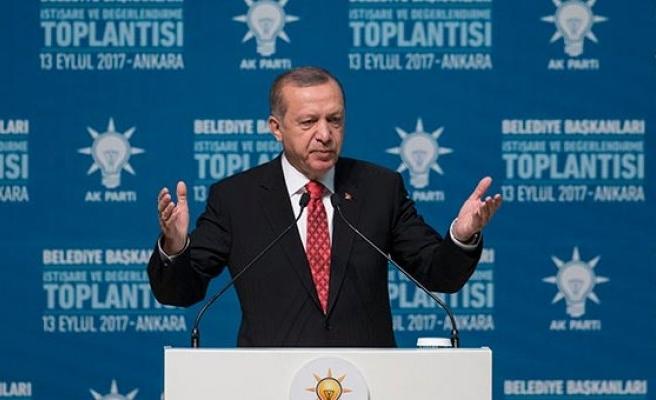Erdoğan'dan heykelinin yapılmasına tepki!