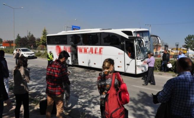 Bursa'da faciaya kıl payı!