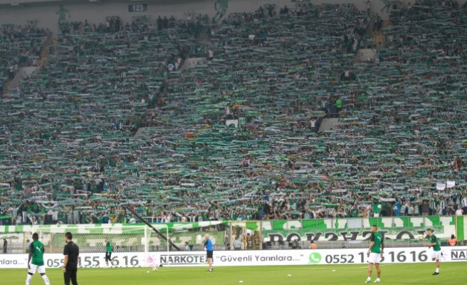 Bursaspor'a 8 milyon TL'lik gelir