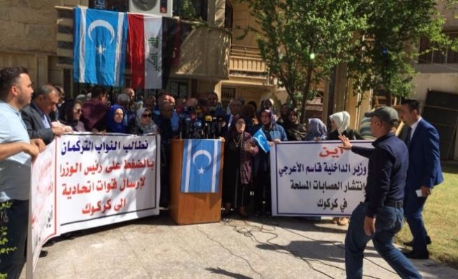 Türkmenler baskınları kınadı