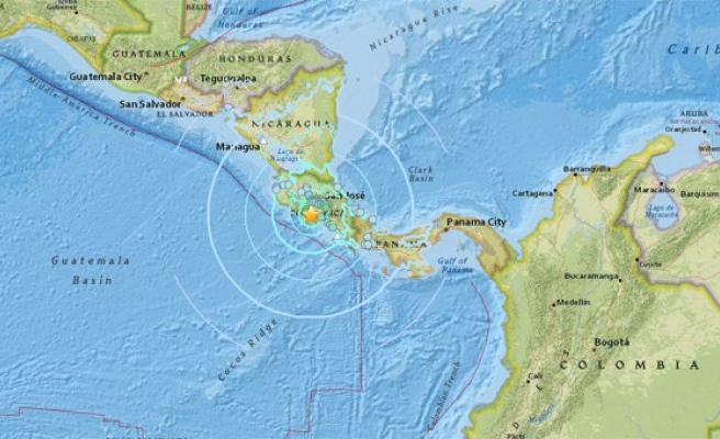 Kosta Rika'da 6.4 büyüklüğünde deprem