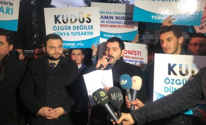 Amerika'nın Kudüs kararına Bursa'dan tepki!
