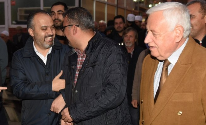 Başkan Aktaş vatandaşlarla bereket sofrasında buluştu