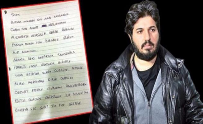 Reza Zarrab'ın gizli planı deşifre oldu!