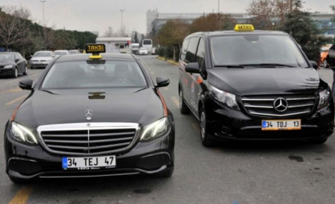 VIP taksiler hizmete başladı!