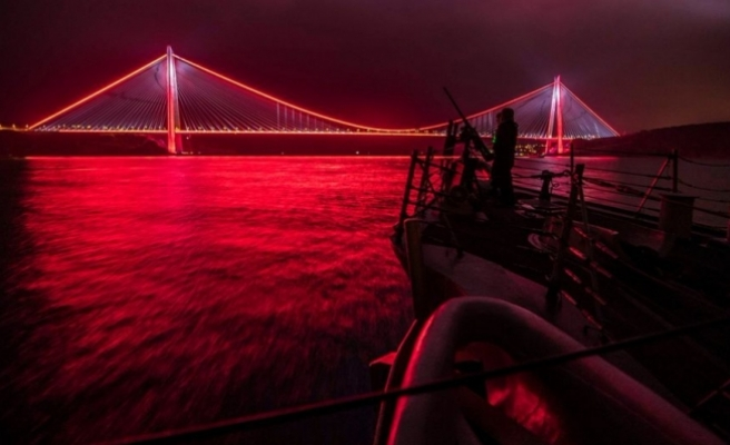 ABD Donanması'ndan İstanbul paylaşımı!